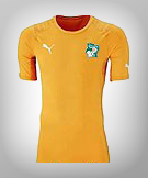 Cote D'Ivorie World Cup 14 Kit