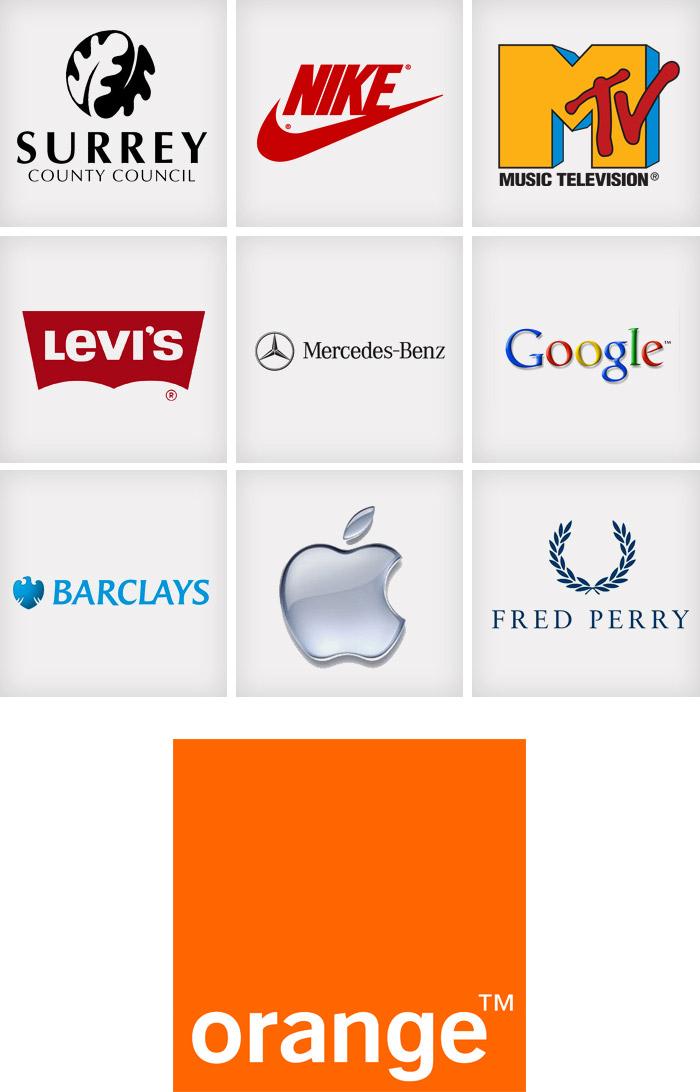 Top ten logos