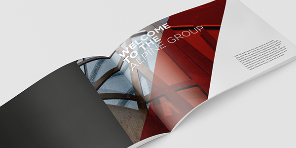 ALPINE GROUP BROCHURE DESIGN