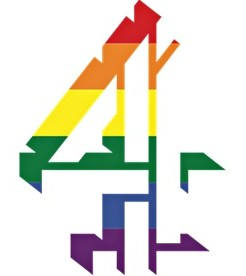 Channel 4 rainbow logo for Sochi Winter Olympics