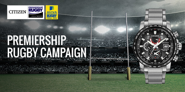 Citizen Watch - Premiership Rugby Ad Campaign