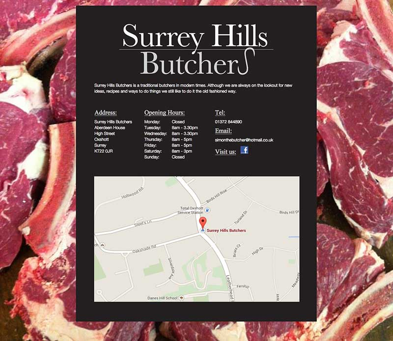 Surrey Hill Butchers - Before reskin