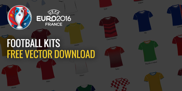 UEFA Euro 2016 - Free Vector Download - Football Kits