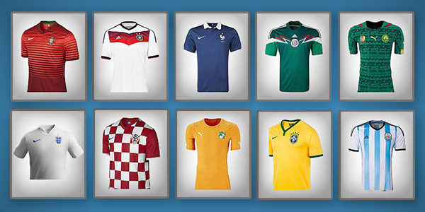 World Cup '14 Kits