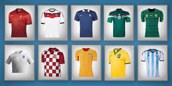 World Cup '14 Kits