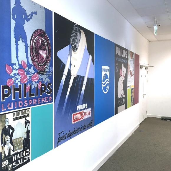 Philips office branding